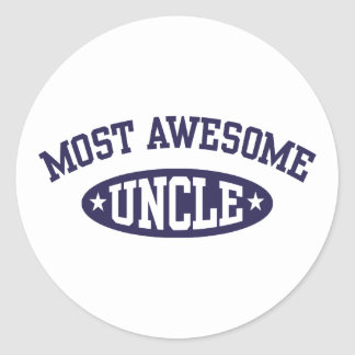 Most Awesome Uncle Stickers