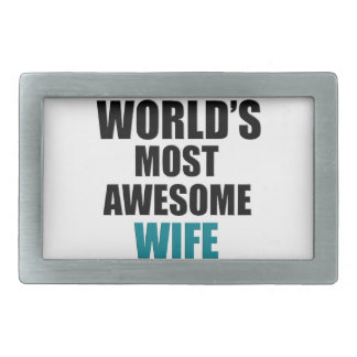 Most awesome wife belt buckle