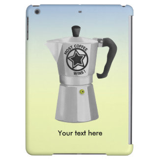 Most coffee wins desin for caffeine addicts iPad air case
