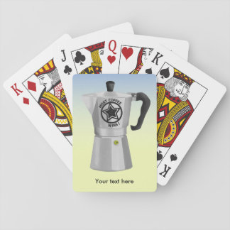 Most coffee wins desin for caffeine addicts playing cards