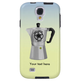 Most coffee wins desin for caffine lovers galaxy s4 case