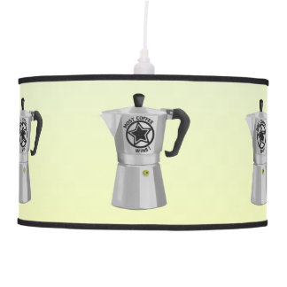 Most coffee wins desin for caffine lovers hanging lamp