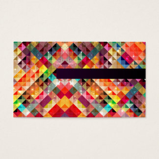 most colorful and shining business card template