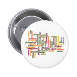 Most Common Elements (Word Cloud Chemistry) Pinback Button