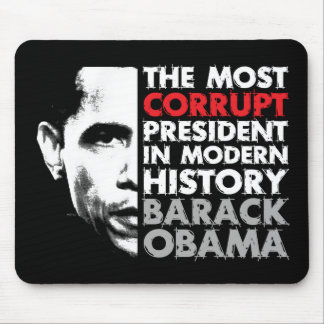 Most Corrupt President Mouse Pad