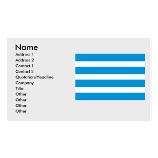 Most, Czech Double-Sided Standard Business Cards (Pack Of 100)