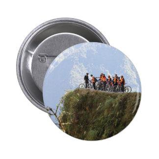 Most Dangerous Road  Bolivia Death Road to Coroico Pinback Button