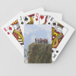 Most Dangerous Road  Bolivia Death Road to Coroico Playing Cards