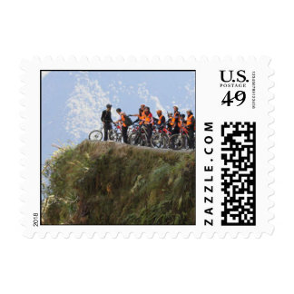 Most Dangerous Road  Bolivia Death Road to Coroico Postage Stamp
