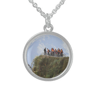 Most Dangerous Road  Bolivia Death Road to Coroico Sterling Silver Necklace
