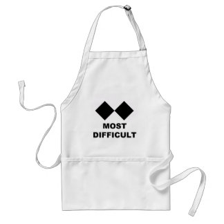 Most Difficult Adult Apron