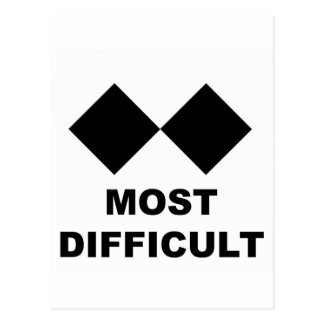 Most Difficult Postcard