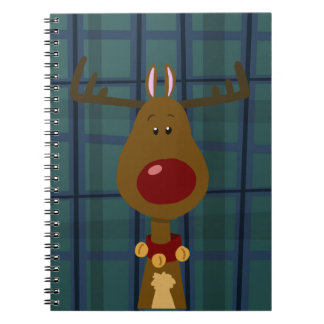 Most Famous Reindeer Notebook