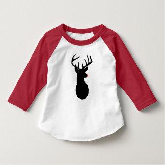 Most Famous Reindeer of All Toddler Raglan T-Shirt
