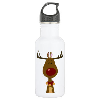 Most Famous Reindeer Stainless Steel Water Bottle