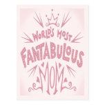 Most Fantabulous Mom Postcard