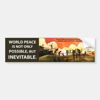 Most Great Peace Bumper Sticker