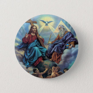 Most Holy Trinity Button