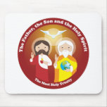 Most Holy Trinity Mouse Pad
