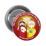 Most Holy Trinity Pinback Button