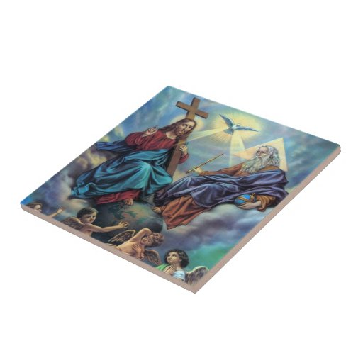 Most Holy Trinity Tile