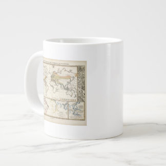 most important cultivated plants spread Districts Large Coffee Mug