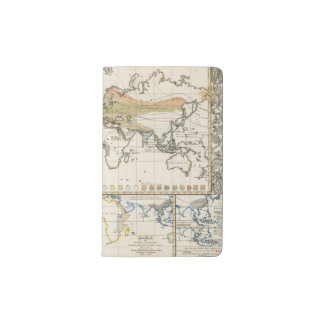 most important cultivated plants spread Districts Pocket Moleskine Notebook Cover With Notebook