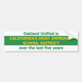 Most Improved Bumper Sticker