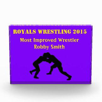 Most improved wrestler award