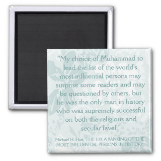 Most Influential Persons in History Fridge Magnet