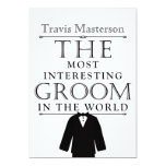 Most Interesting Groom Bachelor Party Invite