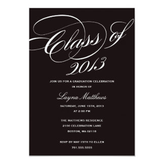 MOST LIKELY TO SUCCEED | GRADUATION INVITATION