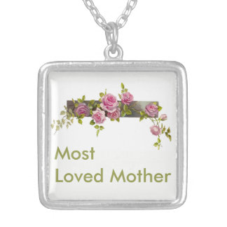 Most Loved Mother Mother's Day / Birthday Necklace