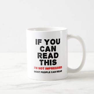 Most People Can Read Funny Mug
