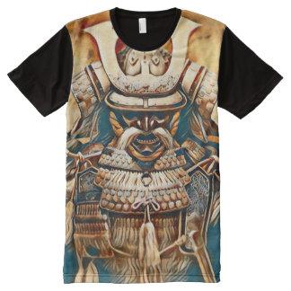 Most Popular Ancient Samurai Acrylic Airbrush Art All-Over-Print Shirt