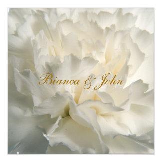 Most Popular and Elegant  White Wedding Invitation