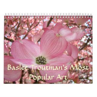 MOST POPULAR ART Calendar Baslee Troutman Florals