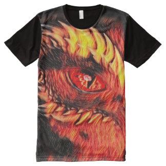 Most Popular Fantasy Demon Eye Airbrush Art All-Over-Print Shirt