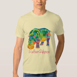 Most Popular I Love HIPPOS T-Shirt