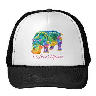 Most Popular I Love HIPPOS Trucker Hat