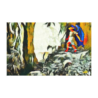 Most Popular Paradise Lost Acrylic Paint Canvas Print