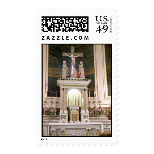 Most Precious Blood Church on Mulberry Street Postage