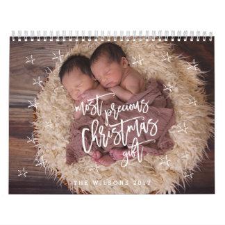 Most Precious Christmas Gift Photo Calendar 2017