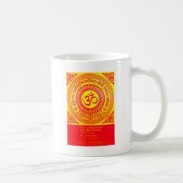 MOST SACRED HINDU GAYATRI MANTRA COFFEE MUG