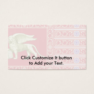 Most Serene Republic Of Venice, Italy Business Card