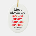 Most Skydivers Ornament