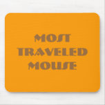 Most traveled MOUSE Mousepads