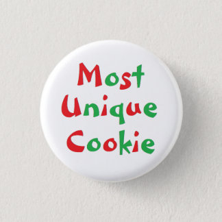 """Most Unique Cookie"" Award Pin"