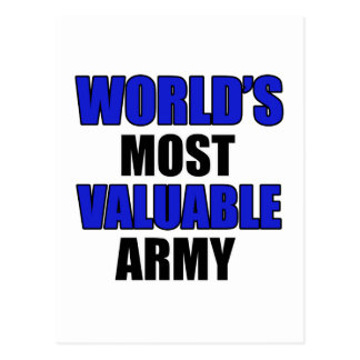 most valuable Army Postcard