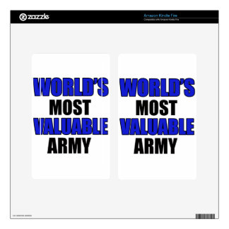 most valuable Army Skin For Kindle Fire